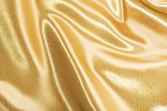 guld- silk Royaltyfria Bilder