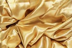Guld- Silk Arkivfoto