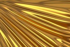 Guld- silke för abstrakt bakgrund Royaltyfri Fotografi