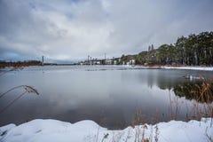 guld- sjö` för `, Fotografering för Bildbyråer