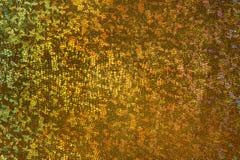 Guld- skalabakgrund, fjällig tygmodell, abstrakt textur Arkivbild