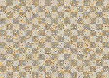 Guld- skimra slumpmässiga fallande konfettier Arkivbilder