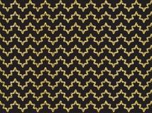 Guld- skimra vågmodellen Arkivbild