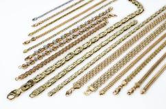 Guld- smycken Royaltyfri Foto