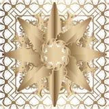 Guld- snöra åt modellen vektor illustrationer