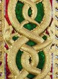 Guld- snida för drake Royaltyfri Foto