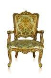 Guld- sofa Royaltyfri Fotografi