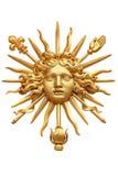 Guld- sol Arkivbild