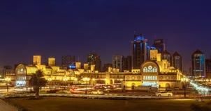 Guld- Souq Sharjah royaltyfri bild