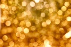 guld- sparkle royaltyfri fotografi