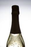 guld- sparkling wine Royaltyfri Foto