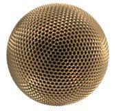 guld- sphere Arkivfoto
