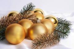 Guld- spheres Arkivbild