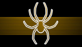 Guld- spindel Royaltyfria Bilder
