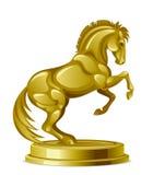 Guld- springare Arkivfoton