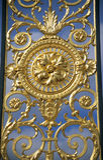 guld- staket Arkivbilder