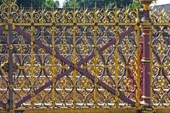 guld- staket royaltyfri foto