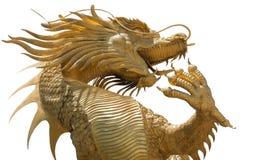 guld- staty för drake Arkivfoto