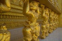 Guld- staty Hanuman Royaltyfria Foton
