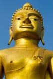 guld- stora buddha Arkivbilder
