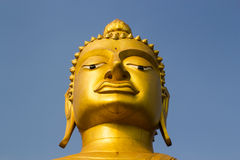 guld- stora buddha Royaltyfria Bilder