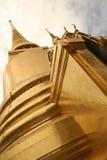 guld- storslagen slott thailand för bangkokschedi Arkivbild