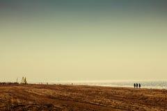 Guld- strand Royaltyfri Fotografi