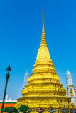 Guld- Stupa, Royal Palace bangkok storslagen slott thailand Royaltyfri Fotografi