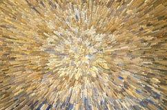 Guld- styckbakgrund Royaltyfri Foto