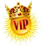 guld- sun för krona Royaltyfri Fotografi