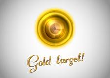 Guld- symbol Royaltyfri Foto