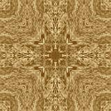 Guld- symmetrimodell och geometrisk guld- design, sömlöst dekorativt stock illustrationer