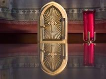 guld- tabernacle Arkivbild