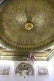 Guld- tak för Sousse rum - Bardo museum, lopp Tunisien Royaltyfri Foto