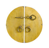 guld- tangent för skåpdörr Arkivfoto