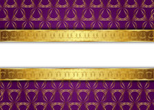 guld- tappning för bakgrund mellanrum för meddelande eller text certifikat Fotografering för Bildbyråer