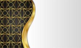 guld- tappning för bakgrund mellanrum för meddelande eller text certifikat Royaltyfria Foton