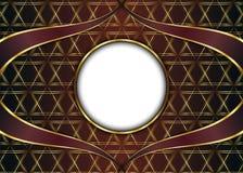 guld- tappning för bakgrund mellanrum för meddelande eller text certifikat Royaltyfri Bild