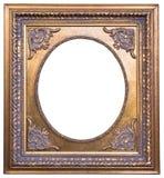 guld- tappning för ram Royaltyfria Foton