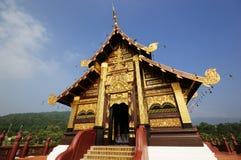 guld- tempel Royaltyfria Bilder