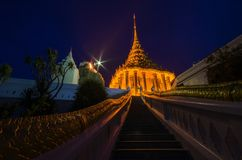 Guld- tempel Royaltyfri Foto