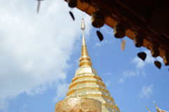 Guld- tempel Arkivbild