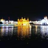 Guld- tempel amritsar arkivbild