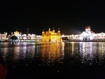Guld- tempel amritsar fotografering för bildbyråer