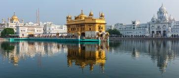 Guld- tempel, Amritsar Royaltyfri Bild