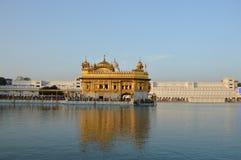 Guld- tempel - Amritsar Arkivbild