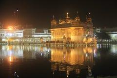 Guld- tempel - Amritsar Royaltyfri Fotografi