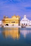 Guld- tempel, Amritsar, Indien Arkivbild