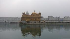 guld- tempel amritsar Indien Indien Arkivbild