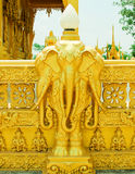 Guld- tempel, den guld- templet Royaltyfria Foton